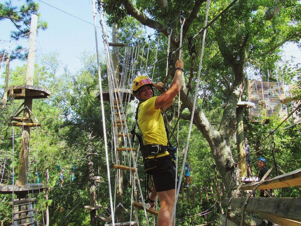 Aerial Adventure Hilton Head Joins The Growing Activities At Bro
