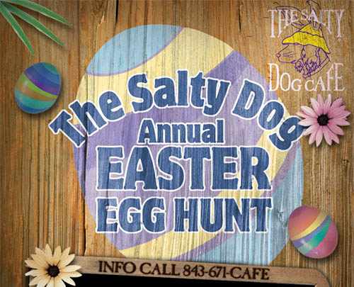 Salty Dog Annual Easter Egg Hunt