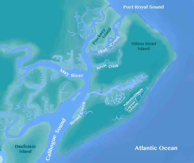 HHI kayaking map c