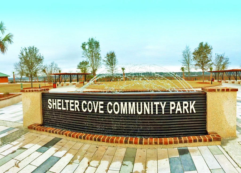Shelter Cove Community Park Fountain