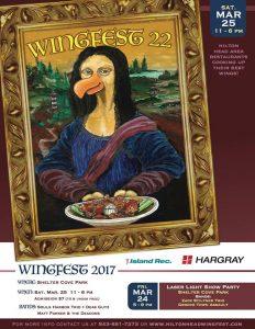 Wingfest 2017 Poster Hilton Head
