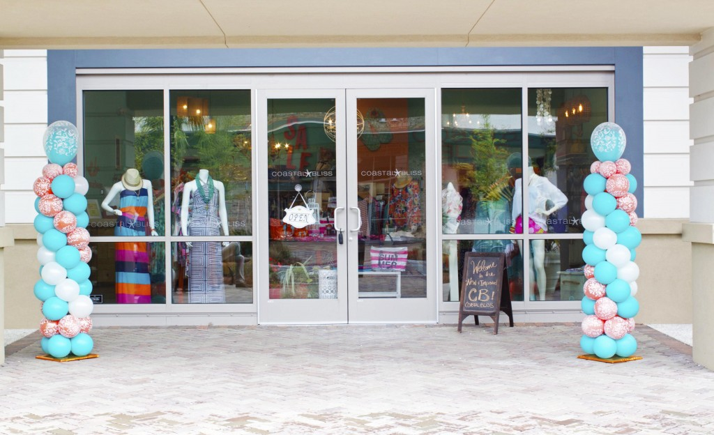 Coastal Bliss sells an assortment of clothing, accessories and shoes for women in Shelter Cove Towne Centre. Photo by Andrea Six.