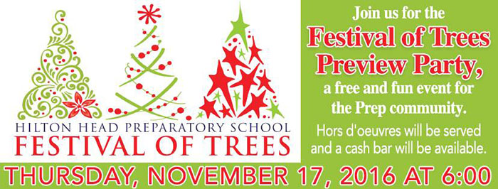 Hilton Head Preparatory School Festival of Trees