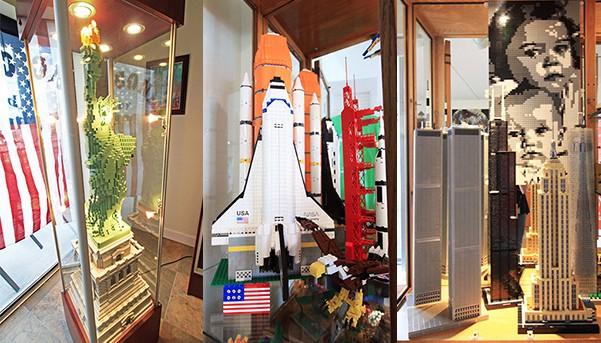Chris Suddoth Lego Scultpures and Mosiac