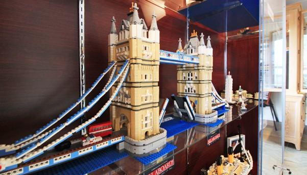 Chris Suddoth's Lego London Tower Bridge