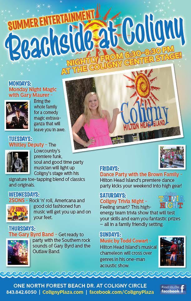 Coligny Summer 2016 Entertainment