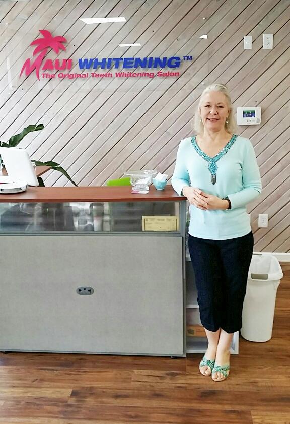 Beth Clough at Maui Whitening Hilton Head