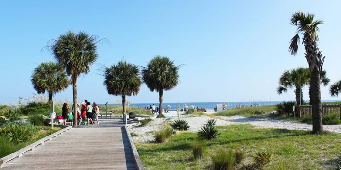 Coligny Beach On Hilton Head Island