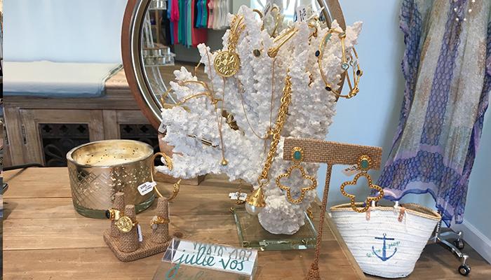 Julie Vos Jewelry at Birdie James