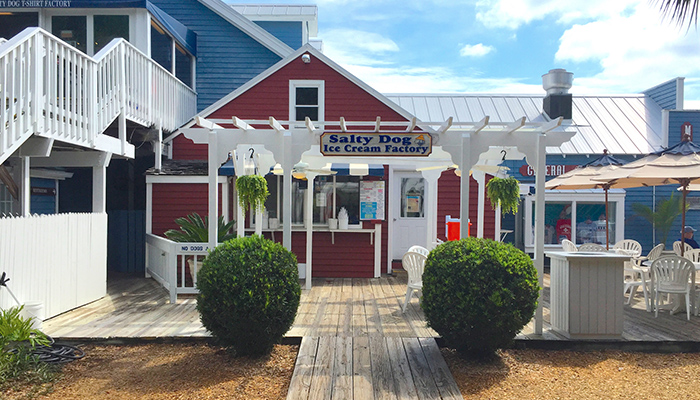 The Salty Dog Ice Cream Factory