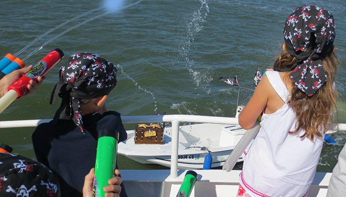 Shannon Tanner's Most Excellent Pirate Expedition on Hilton Head Island