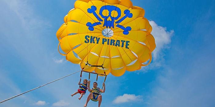 Sky Pirate Parasail on Hilton Head Island