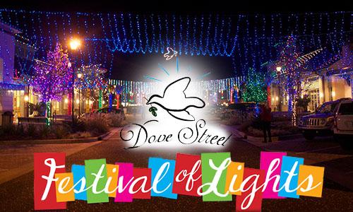 Dove Street Festival of Lights on Hilton Head Island