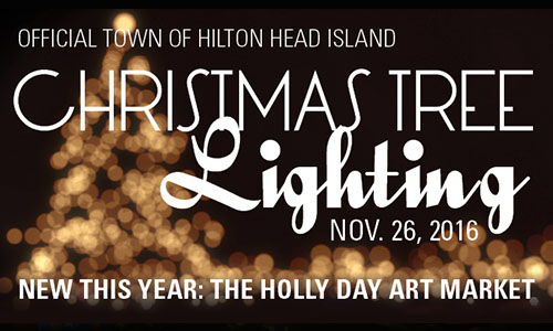 Hilton Head Island 2016 Christmas Tree Lighting