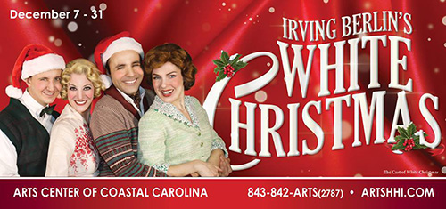 Irving Berlin's White Christmas Hilton Head 2016