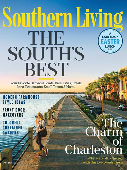 Southern Living Magazine April 2017 The South's Best Cover