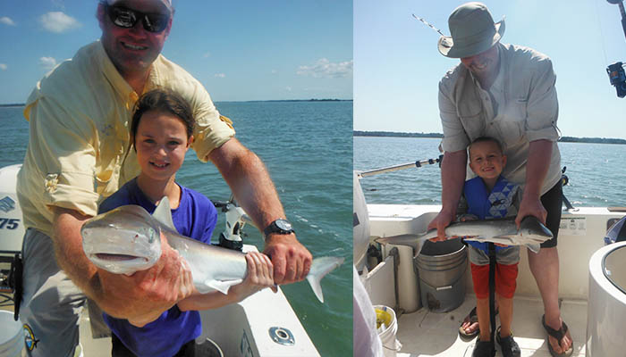 Family Friendly TailTamer Shark Fishing Charter