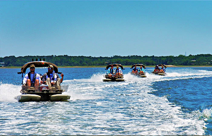 Island Skiff Adventure Tour on HHI