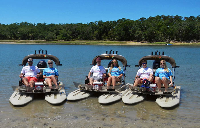 Island Skiff Adventure Tour on Hilton Head Island