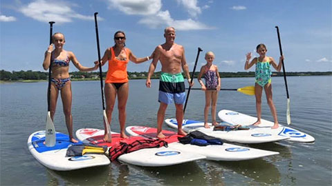Stand Up Paddleboard Hilton Head
