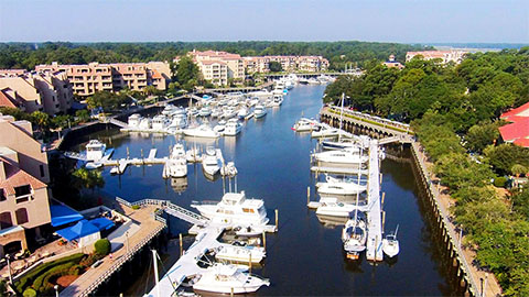 Shelter Cove Harbour & Marina at Palmetto Dunes