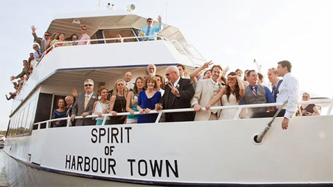 Vagabond Cruise Wedding Charters